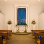 Chapel wedding in Myrtle Beach, SC at the blue chapel
