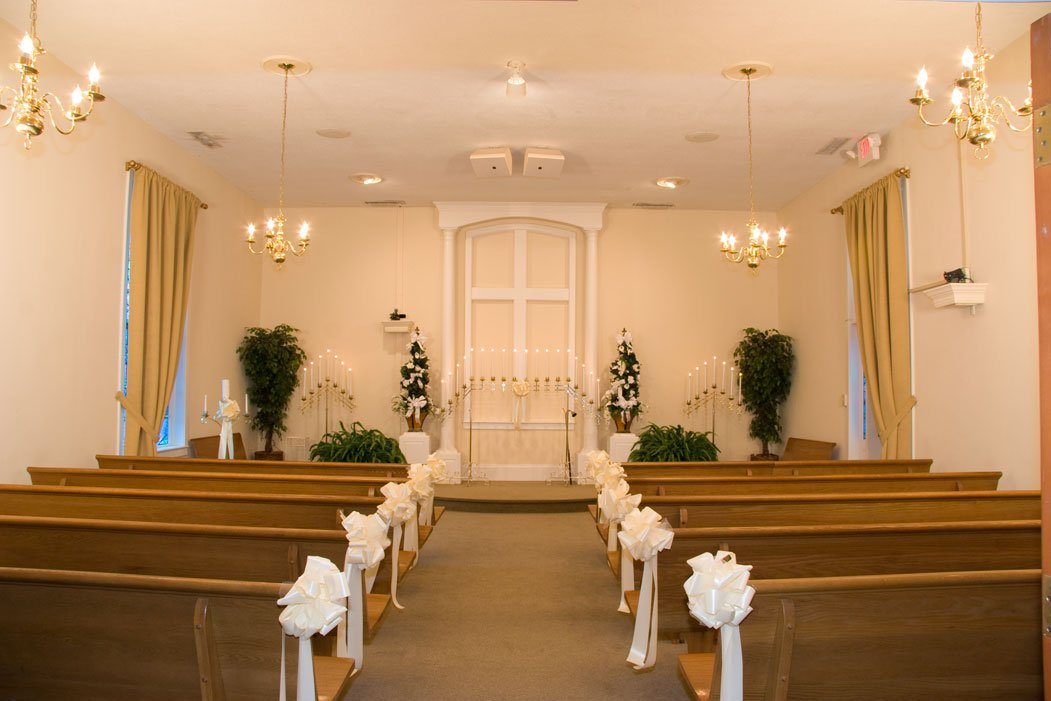 Chapel Wedding In Myrtle Beach Sc At By The Sea