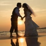 Wedding on the beach in Myrtle Beach, SC