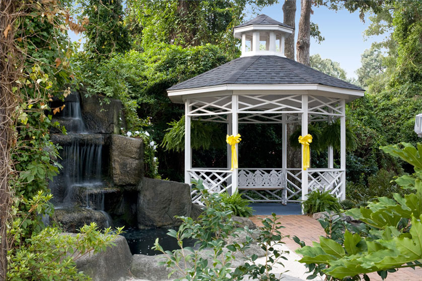 Garden Wedding In Myrtle Beach SC At Chapel By The Sea