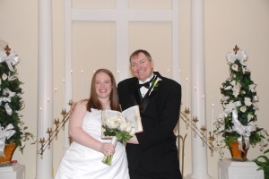 Wesley & Lindsay Byrne have a chapel wedding in Myrtle Beach, SC at Wedding Chapel By The Sea.
