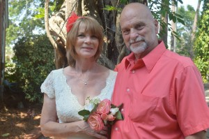 Lucille & Mickey married in Myrtle Beach, SC at Wedding Chapel by the Sea