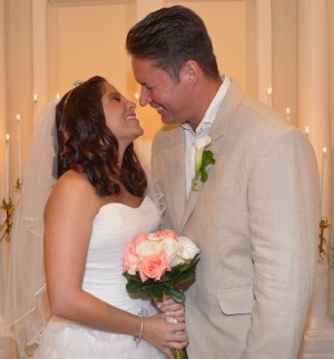 Edleberry & Hauptman Get Married at Wedding Chapel by the Sea in Myrtle Beach, SC.