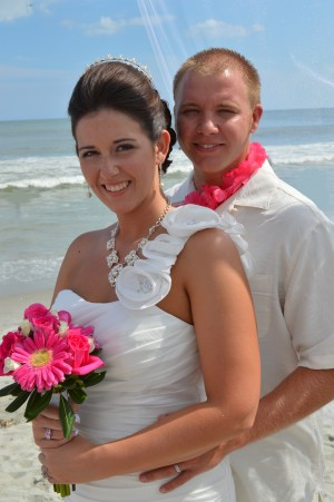 Rebekah & William Monroe married in Myrtle Beach, SC at Wedding Chapel by the Sea