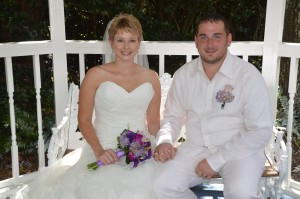 Karissa & Brett Guziak married in Myrtle Beach, SC at Wedding Chapel by the Sea