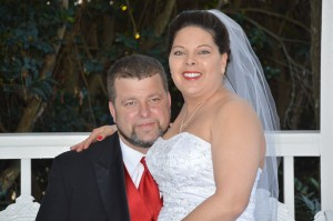 Renee' and Billy Ray married in Myrtle Beach, SC at Wedding Chapel by the Seas
