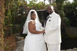 Jocelin & Andre Gibbs married in Myrtle Beach, SC at Wedding Chapel by the Sea