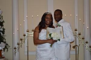 Kieosha & Stephen married in Myrtle Beach, SC at Wedding Chapel by the Sea