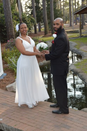 Blondell & Benjamin Brown married in Myrtle Beach, SC at Wedding Chapel by the Sea