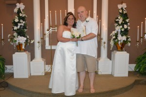 Crystal and Randy Young were married in Myrtle Beach, SC at Wedding Chapel by the Sea.