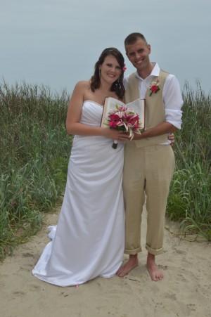 Karie & Bradley were married in Myrtle Beach, SC at Wedding Chapel by the Sea.