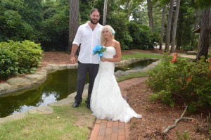 Amy & Kevin Elmore were married in Myrtle Beach, SC at Wedding Chapel by the Sea.