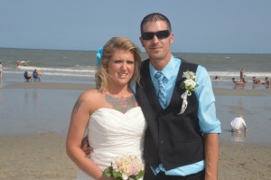 Heather & Joe Brannock were married in Myrtle Beach, SC at Wedding Chapel by the Sea.