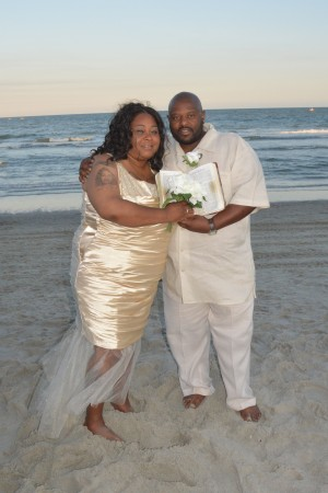Erica & Timothy Owens were married in Myrtle Beach, SC at Wedding Chapel by the Sea.