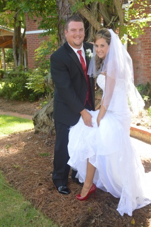 Amanda & Mark were married in Myrtle Beach, SC at Wedding Chapel by the Sea.