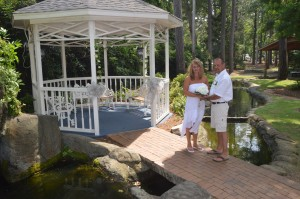 Jean & Steven Tucker were married in Myrtle Beach, SC at Wedding Chapel by the Sea.