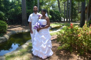 Jillian & Louie Stewart were married in Myrtle Beach, SC at Wedding Chapel by the Sea.