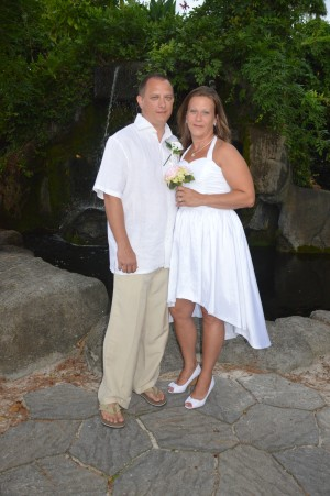 Regina & Charles Carpenter were married in Myrtle Beach, SC at Wedding Chapel by the Sea.