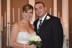 Amanda & Corey Purvis were married in Myrtle Beach, SC at Wedding Chapel by the Sea.
