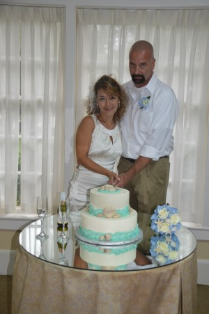 Catina & John Gaddy were married in Myrtle Beach, SC at Wedding Chapel by the Sea.