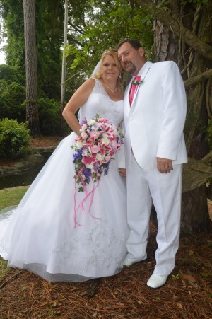 Spring & Gary Griffin were married in Myrtle Beach, SC at Wedding Chapel by the Sea.