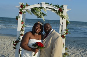 Chrystonia & Shawn Montgomery were married in Myrtle Beach, SC at Wedding Chapel by the Sea.