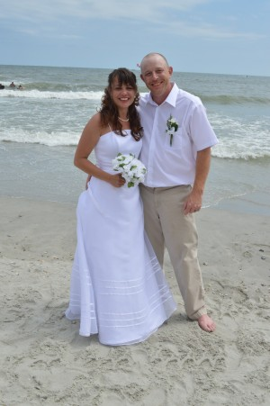 Pamela & Timothy Denny were married in Myrtle Beach, SC at Wedding Chapel by the Sea.