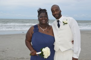 Tunisia & DeWayne George were married in Myrtle Beach, SC at Wedding Chapel by the Sea.