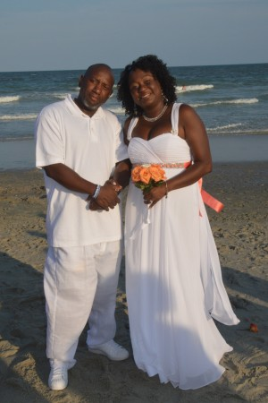 Gwendolyn & Frank Ledet were married in Myrtle Beach, SC at Wedding Chapel by the Sea.