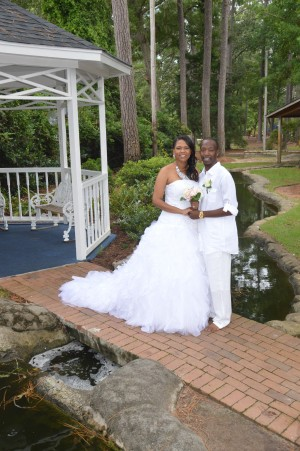 Shannon & Taurean Murray were married in Myrtle Beach, SC at Wedding Chapel by the Sea.