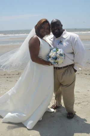 Tammorah & Nathaniel Mathis were married in Myrtle Beach, SC at Wedding Chapel by the Sea.