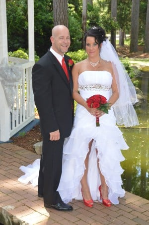 Gwen & Christopher Eimer were married in Myrtle Beach, SC at Wedding Chapel by the Sea.
