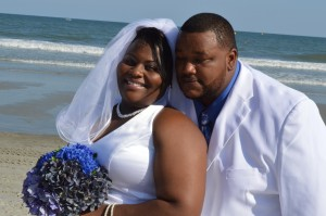 LaWana & Randall Lee were married in Myrtle Beach, SC at Wedding Chapel by the Sea.