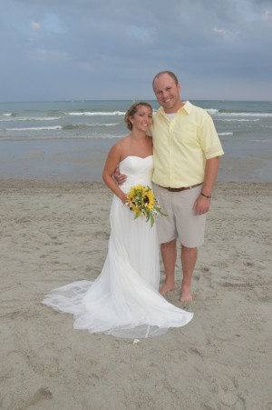 Jessica & Craig Poland were married in Myrtle Beach, SC at Wedding Chapel by the Sea.