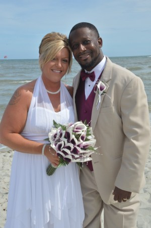 Billie Jo & Clinton were married in Myrtle Beach, SC at Wedding Chapel by the Sea.