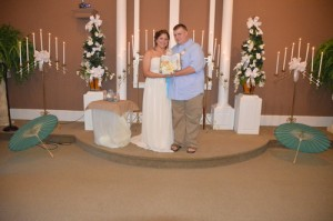 Sarah & Michael Bentley were married in Myrtle Beach, SC at Wedding Chapel by the Sea.