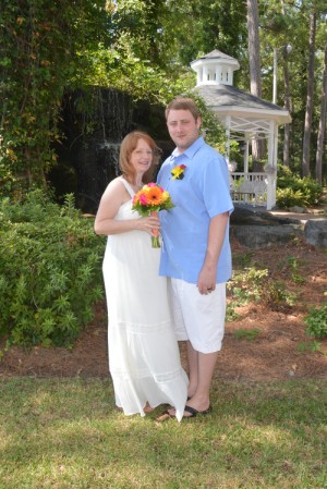 Rachel & Mark Buckley were married in Myrtle Beach, SC at Wedding Chapel by the Sea.