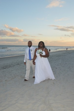 Shanna & Willie Blue were married in Myrtle Beach, SC at Wedding Chapel by the Sea.