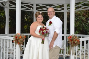 Jessica & Bernard Venesky Jr. were married in Myrtle Beach, SC at Wedding Chapel by the Sea.