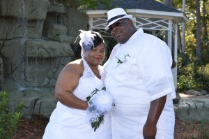 Thementhia & Reggie Johnson were married in Myrtle Beach, SC at Wedding Chapel by the Sea.