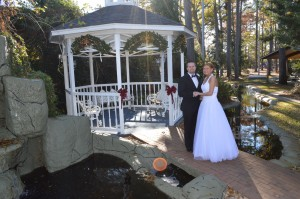 White & Walker Married Had a Gazebo Wedding in Myrtle Beach SC