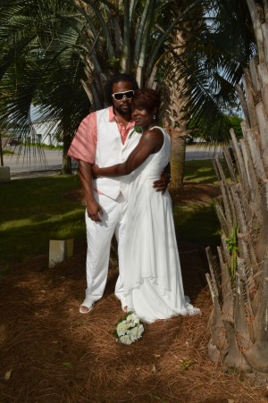 Estella & Tramaine Stitt were married in Myrtle Beach, SC at Wedding Chapel by the Sea.