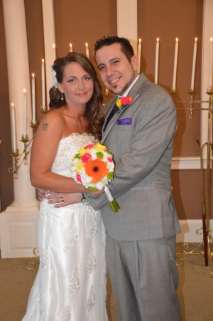 Mandy & Richard were married in Myrtle Beach, Sc on May 3, 2014.