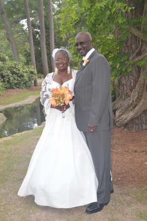 Reginald & Krystal Ivery were married in Myrtle Beach, SC at Wedding Chapel by the Sea.