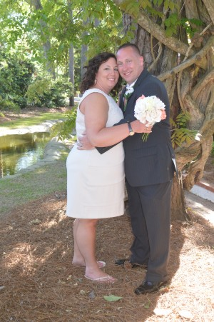 Karen & Erik Wessberg were married in Myrtle Beach, SC at Wedding Chapel by the Sea.