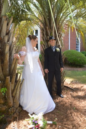 Deonna & Byron Helper were married in Myrtle Beach, SC at Wedding Chapel by the Sea.
