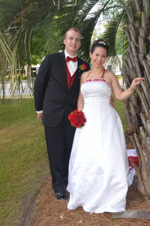 Brent & Vanessa Wilson were married in Myrtle Beach, SC at Wedding Chapel by the Sea.