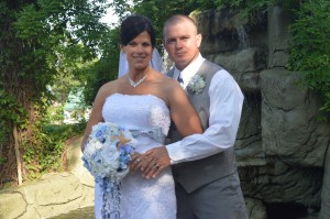 Erin & John Pinder were married in Myrtle Beach, SC at Wedding Chapel by the Sea on June 7, 2014.