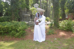Megan & Terrence Winborne were married in Myrtle Beach, SC at Wedding Chapel by the Sea.