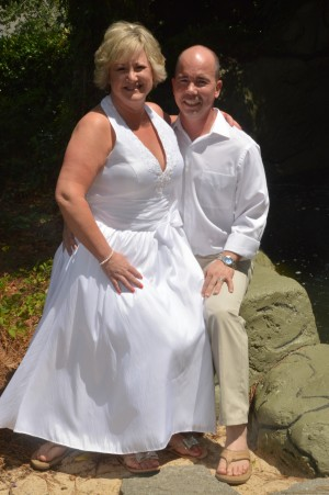 Tina & Ric Powers were married in Myrtle Beach, SC at Wedding Chapel by the Sea.